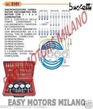 5101 BUZZETTI - MOTO SCOOTER ATTREZZO SINCRONIZZATORE CARBURATORI (VACUOMETRO)