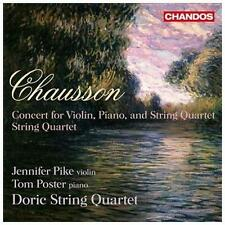 Concert for Violin Piano & String Quartet/String Q, New Music