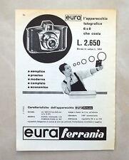 C925 - Advertising Pubblicità - 1959 - FERRANIA APPARECCHIO FOTOGRAFICO