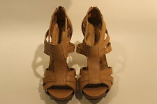 Chinese Laundry Womens Open Toe Strappy Pumps Size 6M  Excellent Used Conditio