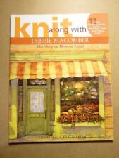 New listing Leisure Arts Knit along with Debbie Macomber Shop on Blossom Street Softcover