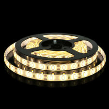 24V 5M Warm White LED Strip Light 300 x SMD5050 Under Cabinet Lorry No Adapter