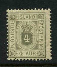 Iceland  Scott #O11 Facit #Tj11 Mint Cats $47.50