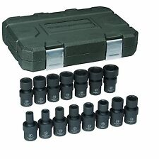 "Kd Tools 84918N 15 Piece 3/8"" Drive 6 Point 6 Pt. Metric Universal Socket Set"