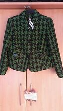 "L@@K M&S NWT SIZE 18 BOHO WOOL BLEND GREEN DRESSY JACKET £59 GIFT IDEA? 44"" BUST"