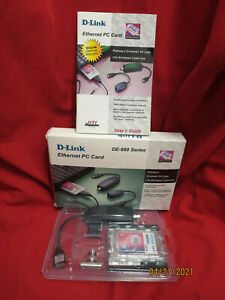 D-Link Ethernet PC Card DE-660 Series