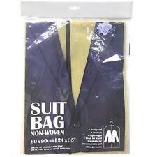 90cm Zipped Professional Non Woven Carry Suit Bag Travel Garment Carrier Tuxedo