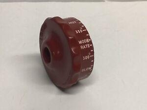 Lorain Red Wheel Temperature Dial Knob Magic Chef 1000 Range 6300 American Stove