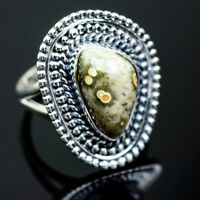 Ocean Jasper 925 Sterling Silver Ring Size 8 Ana Co Jewelry R995706F