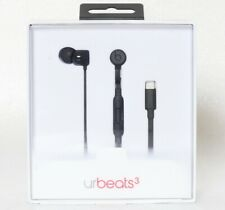 Beats by Dr Dre urBeats3 Black - Lightning Connector for iPhone Urbeats 3