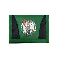 Boston Celtics Basketball League Licensed Nylon Tri-Fold Chamber Wallet