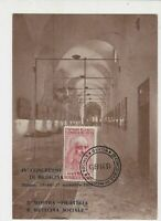 Italy 1953 Philately & Social Medicine Exhibition Stamps Card ref  22446