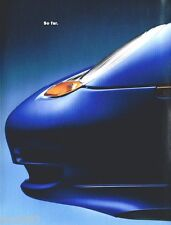 1998 PORSCHE 911 / BOXSTER Poster / Brochure: Carrera,