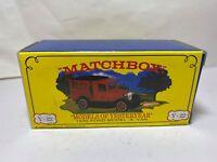 Matchbox Y22 1930 Ford Model A Van BRAVO In Its Original Box - Mint New
