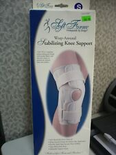 FLA SOFT FORM WRAP AROUND STABILIZING KNEE SUPPORT SMALL BEIGE