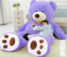 """200CM /78"""" Giant Large Big Teddy Bear Plush Soft Toys doll Gift (ONLY COVER)+DS"""