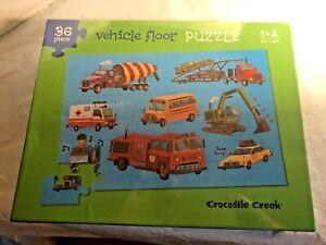Crocodile Creek - VEHICLE FLOOR PUZZLE - 36 Piece Jigsaw 20X30 DAYCARE PRESCHOOL
