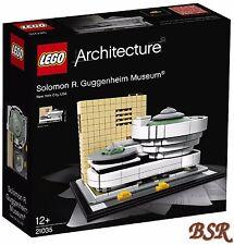 LEGO® Architecture: 21035 Solomon R. Guggenheim Museum® & 0.- Versand & OVP NEU