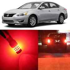 Alla Lighting Brake Tail Stop Light 7528 Super Red 12V LED Bulb for Nissan Versa