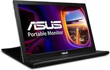 """ASUS MB168B 15.6"""" WXGA 1366x768 USB Portable Monitor,Black/Silve"""