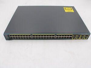Cisco WS-C2960G-48TC-L V03 Catalyst 2960G 48-Port Gigabit Ethernet Switch