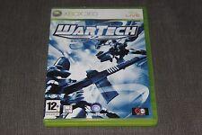 WarTech Senko No Ronde Sci-Fi Shooter Jeu Xbox 360 (PAL Version britannique) Complet!