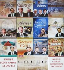 EWTN & SCOTT HAHN'S  13 DVD BUNDLE: INCLUDES 13 INDIVIDUAL DVDS