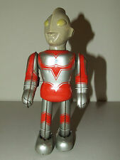 "Vintage ULTRAMAN RETURNS Japanese 9"" Tin Toy Wind-Up Robot by BULLMARK Japan"