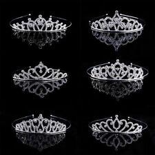 Wedding Bridal Princess Crystal Headband Rhinestone Prom Hair Tiara Crown