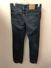 Hollister 30 X 30 Skinny Slim Jeans Dark Wash Button Fly Euc Lkn