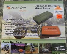 Nautic Sport Sp12400 Sportsman's Emergency Power Supply Jump Start System Sealed