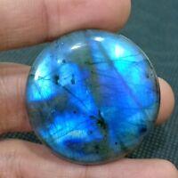 111.75 carats Rare Natural Labradorite Cabochon Full Flashy Gemstone Loose