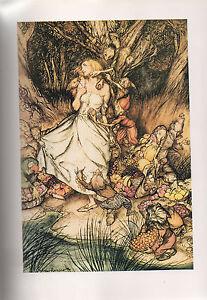 Arthur Rackham Print  - Goblin Market By Christina Rossetti