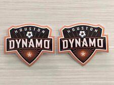 2x Houston Dynamo FC Car Window Bumper Laptop Vinyl Stickers Decals