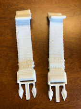 Fisher Price My Little Lamb Cradle Swing Replacement Part 2 Seat Straps Buckles
