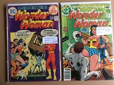 Wonder Woman Issues 213 & 256 by DC Comic Books