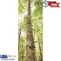 Climbing Sticks Tree Stand 20 FT Stainless Steel Hunting Ladder Holds 300lb NEW