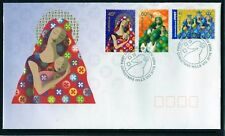 2004 Australia Christmas Issue International Stamp Set Of 3 FDC, Mint Condition