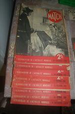 lot de 39 magazines match de 1938 à 1940 ww2
