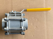 "3"" Warren Stainless Steel Threaded Ball Valve 1030 Series"