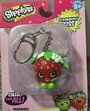 NEW Shopkins Dangler Keychain Keyring For School Bag Strawberry Kiss