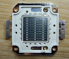 30 W Watt  LED Chip blau, blue , 30*30 mil , 900-1200 Lm, COB, Aquarium, Neu