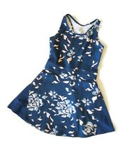 Under Armour Threadborne Blue Floral Tennis Dress size X Small XS retail $80