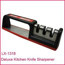 50 x NEW Professional Knife Sharpener, Deluxe 3-stage Carbide Diamond Ceramic