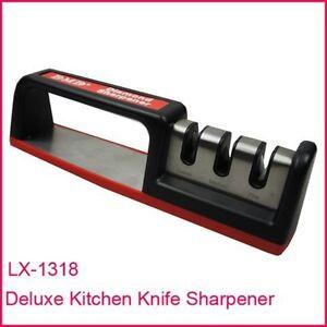 NEW Professional Kitchen Knife Sharpener, Deluxe 3-stage Carbide Diamond Ceramic