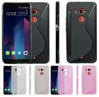 NS Line Gel Tough Shockproof Phone Case Cover Skin Silicone for HTC U11+