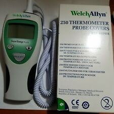 250 Welch Allyn Disposable Probe Covers FREE! SureTemp Plus 690Thermometer used