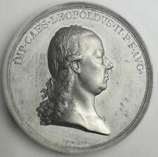1792, Emperor Leopold II. University of Vienna Rectoral Award Medal. PCGS SP-62!