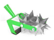 Kultivator Sternfräse Krümler Bodenkrümler Rollhacke Jätemesser 2-Reihe 7-Star