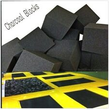 "Foam Pits - Pit Foam Blocks 1000 pcs. (CHARCOAL) 5""x5""x5""  Flame Retardant Foam"